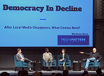Democracy in Decline Panel, TRT 1:16  recorded 10/8/19