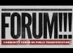 Community Forum on Public Transportation, TRT :88  recorded 1/16/14
