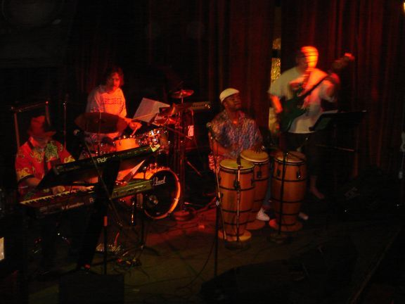 Yoginis Trio plus Ricardo Guity at Necter in Freemont 6/07
