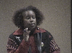 Cynthia McKinney: Don't Get Tired When Working for Justice. TRT 1:47 Recorded 2/25/10